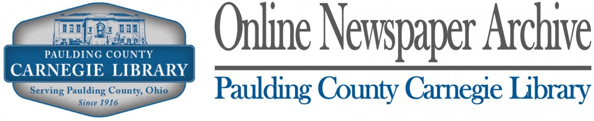Paulding County Carnegie Library Digital Newspaper Archives