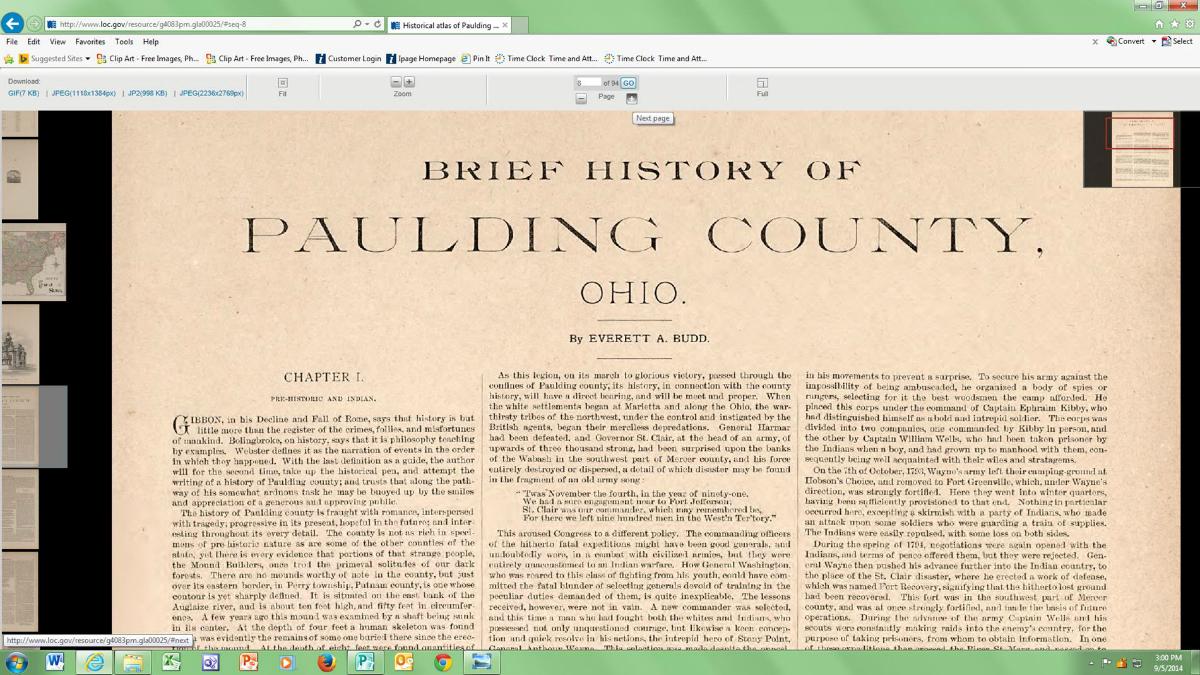 History Of Paulding County Paulding County Carnegie Library
